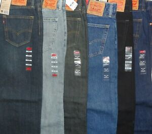 Levis-505-Regular-Fit-Jeans-Many-Colors-And-Sizes-30-31-32-33-34-36-38-40-42-44