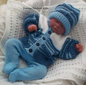 Dk Baby Knitting Pattern 40 To Knit Boys Girls Or Reborns Cardigan