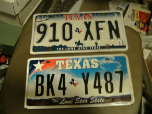 Total ALL TEXAS PLATES HUGE USED//EXPIRED Texas License PLATE LOT 100