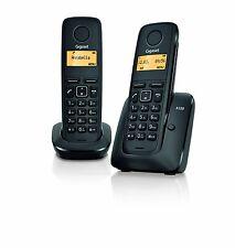 SIEMENS GIGASET A120 TWIN DIGITAL CORDLESS TELEPHONE