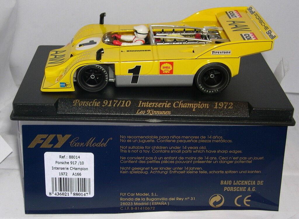 FLY 88014 A166 PORSCHE 917 10  INTERSERIE CHAMPION 1972 LEO KINNUNEN  MB
