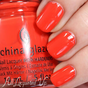 Image Is Loading CHINA GLAZE Nail Lacquer Polish With Hardeners In