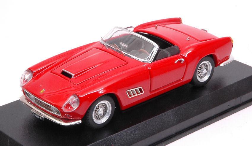 Ferrari Ferrari Ferrari 250 California Lwb Spider America 1958 rouge 1 43 Model 0382 ART-MODEL 50445b