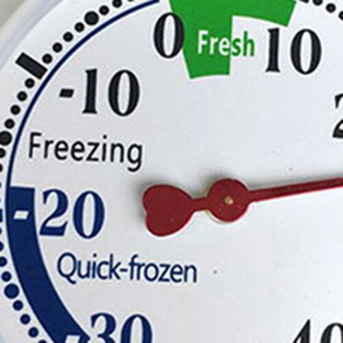 Thermometer Kühlschrank Analog Kühlschrankthermometer Gefrierfach Bimetall