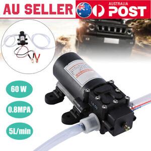 12V-60w-Car-Oil-Fluid-Liquid-Extractor-Scavenge-Exchange-Transfer-Pump-AU-HOT