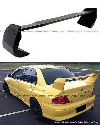 Fit 2002-07 Mitsubishi Lancer Evo 7 8 9 Flat Matte Black Rear Trunk Spoiler Wing
