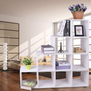 Zimmer Treppenregal Raumteiler Stufenregal Bücherregal Aktenregal