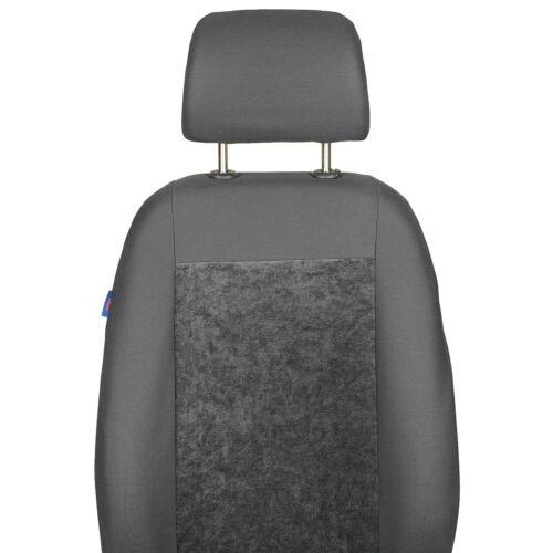 Grauee Velours Sitzbezüge für CITROEN C5 Vorne Sitzbezüge