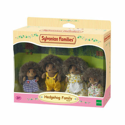 Sylvanian Families Bramble Hedgehog figure famiglia 4018