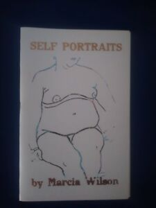 Signed # 50/100 Self Portraits by Marcia Wilson (1937-2018) Artist Etching Book