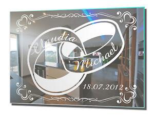 Motivspiegel Hochzeit 7 Hochzeitsgeschenk Geschenk Deko Gravur ...