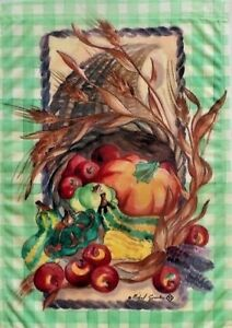 Harvest-Cornucopia-Garden-Flag-by-Toland-12-5-034-x-18-034-1560-Thanksgiving