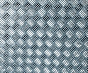 Image is loading 1-5m-X-45cm-SILVER-CHECKER-PLATE-STICKY-  sc 1 st  eBay & 1.5m X 45cm SILVER CHECKER PLATE STICKY BACK PLASTIC SELF ADHESIVE ...