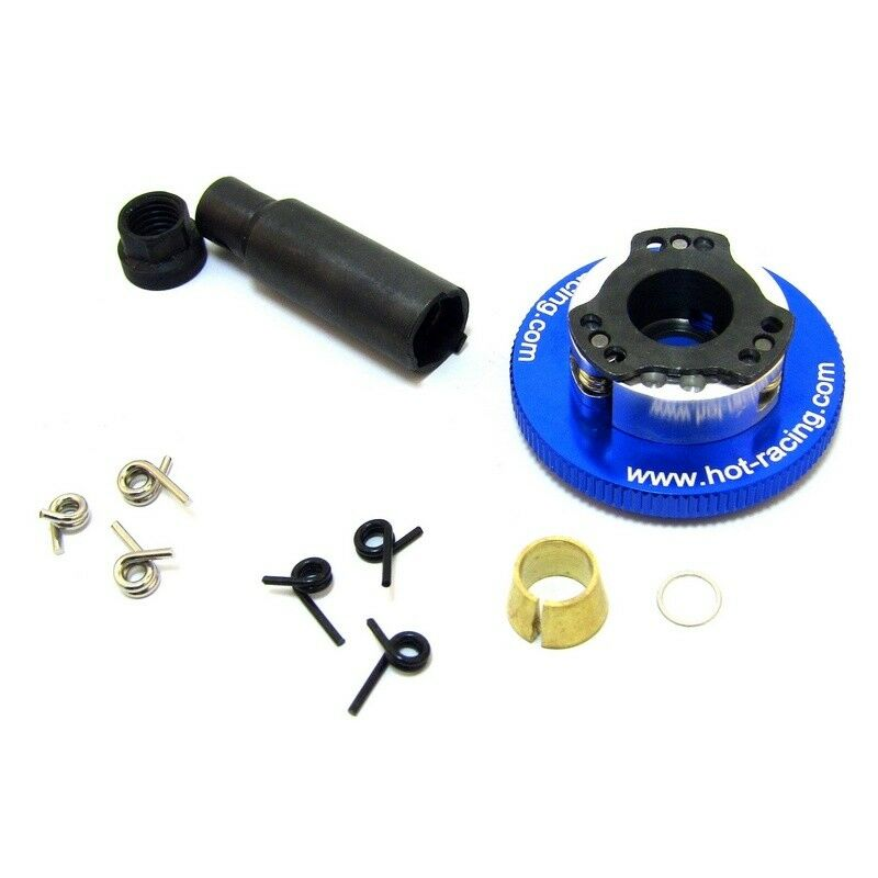 Hot Racing TRX100AC306 E-Z Adjust Aluminum 3-shoes FlyWheel Kit - Traxxas