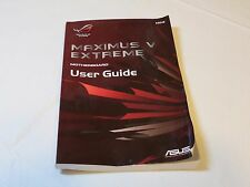 Maximus V  Extreme Motherboard User Guide E8048 ASUS booklet book only