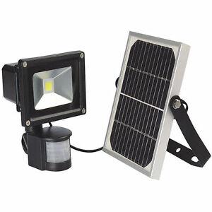 bright solar powered security flood light pir motion sensor waterproof. Black Bedroom Furniture Sets. Home Design Ideas