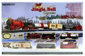 Ho Christmas Train.Details About Bachmann Trains Ho Jingle Bell Christmas Express Train Set Bac724