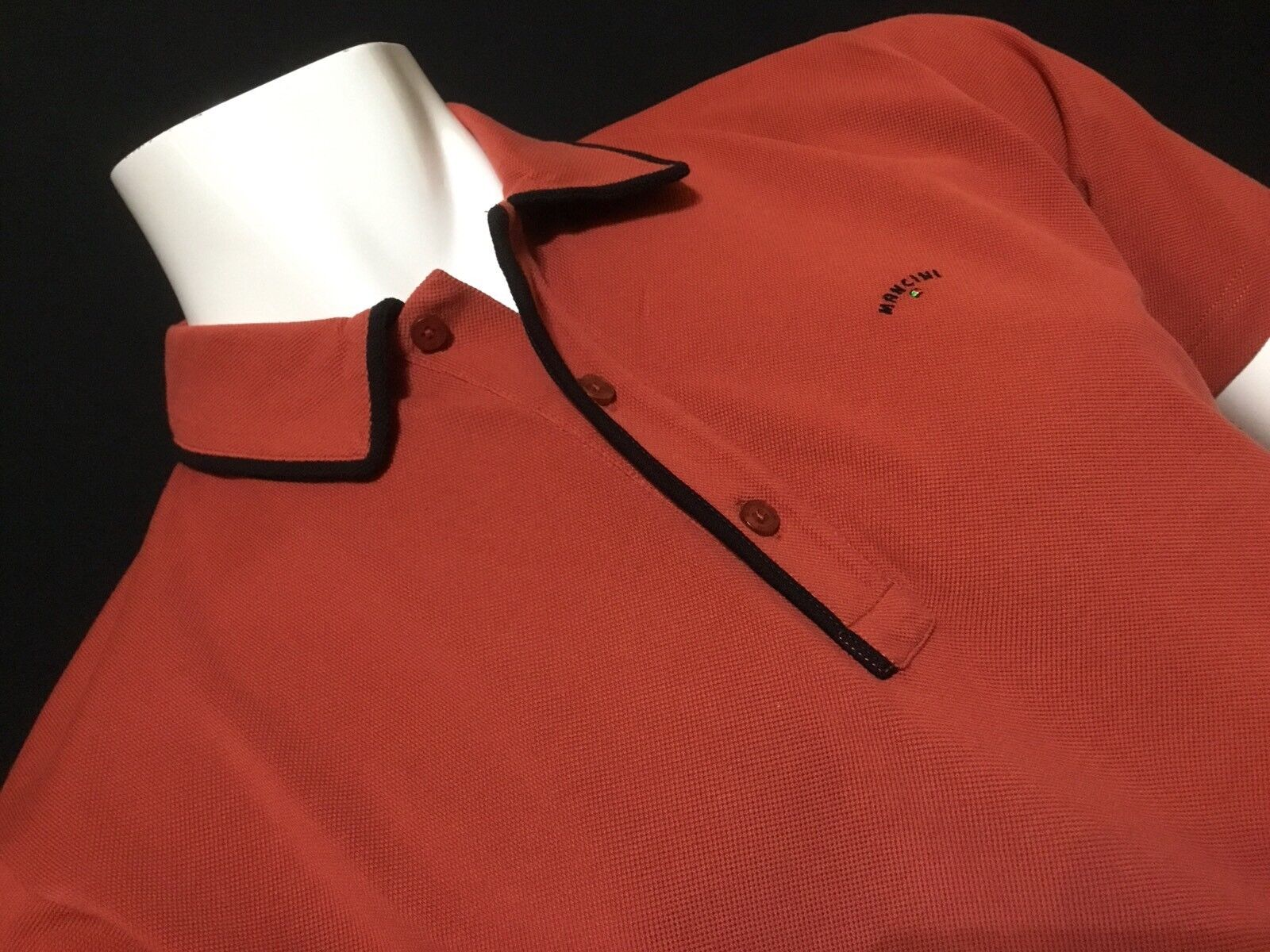 "Mancini  2XL  Chest Measures 49""  Red Ketchup Homer Polo Shirt  RRP .99"