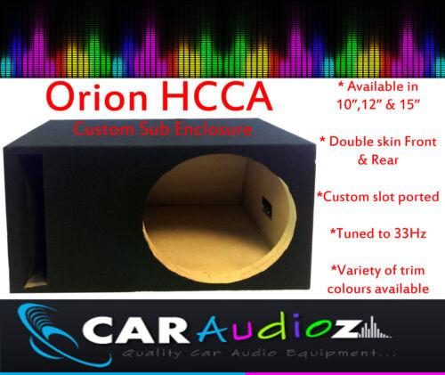 "Orion Hcca 10 /"" 12/"" 15 /""Vacía De Subwoofer Parlante caja recinto Sub bassbox"