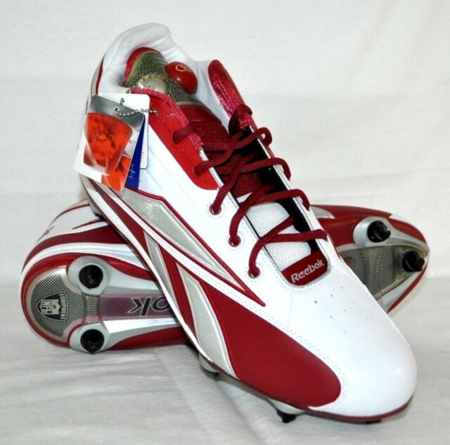 Reebok NFL Pump up Red White Silver