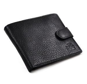 RFID-Negro-Billetera-De-Cuero-Con-Seguridad-Forro-Previene-datos-ROBO