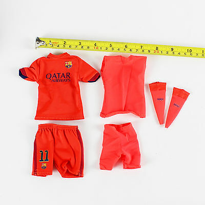 not include body, shoes A87-20 1//6 Scale FCBarcelona Neymar Jr Away Kit