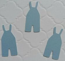 10x Baby grows cut outs baby shower design confetti craft baby grow cards