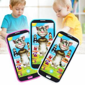 Kid-Screen-Musik-Spielzeugtelefon-Kindertelefon-Paedagogisch-Spielzeug-H8E2