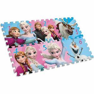 Officiel-Disney-Frozen-Mousse-Jeu-Tapis-6-Pieces-Puzzle-Filles