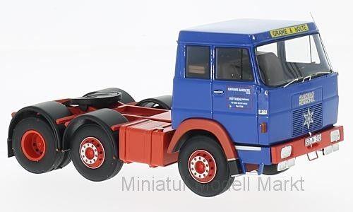 Neo Hanomag Henschel F201 #45310 blau//rot Grawe /& Nolte 1967-1:43