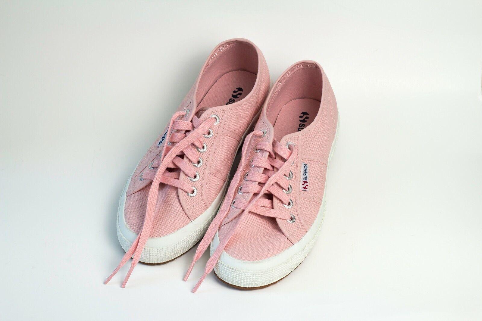 Superga Cotu Classic Classic Classic Womens US Size 8 - pink Mahogany 9ee412