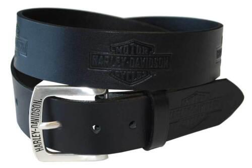 Harley Davidson Mens Tradition Bar & Shield Belt Black Birthday Gift