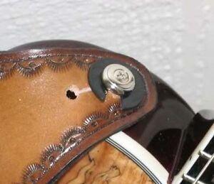 Adroit Sangle De Guitare Savers - 4 Pack Pour Tous Les Instruments De Musique Avec Une Sangle & Peg-afficher Le Titre D'origine