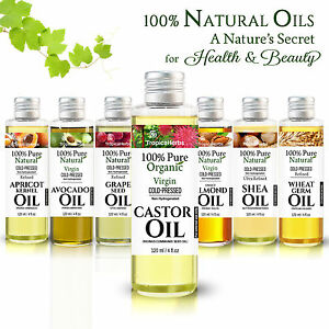100-PURE-CASTOR-OIL-ORGANIC-VIRGIN-COLD-PRESS-UNREFINED-amp-OTHER-CARRIER-OILS