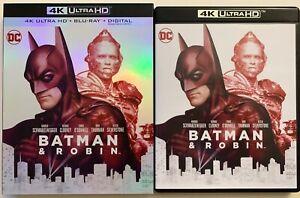 DC-BATMAN-amp-ROBIN-4K-ULTRA-HD-BLU-RAY-2-DISC-SET-SLIPCOVER-SLEEVE-FREE-SHIPPIN