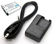 Battery + Charger for Casio Exilim EX-Z270 EX-Z32 EX-Z330 EX-Z335 EX-Z350 EX-Z88