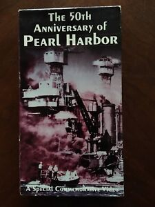 VHS The 50th Anniversary Of Pearl Harbor MPI WWII John Ford Documentary War - Taylor, Michigan, United States - VHS The 50th Anniversary Of Pearl Harbor MPI WWII John Ford Documentary War - Taylor, Michigan, United States