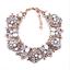 Women-Fashion-Bib-Choker-Chunk-Crystal-Statement-Necklace-Wedding-Jewelry-Set thumbnail 83