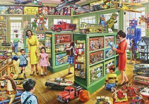 1000-Pezzi-Puzzle-Il-Negozio-di-giocattoli-Sigillato-Nuovo-di-Zecca-amp
