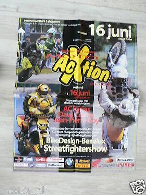 118 Poster Jean-pierre Goy,dave Coates,ac Farias Zolder Moto 2002 Kicxstart