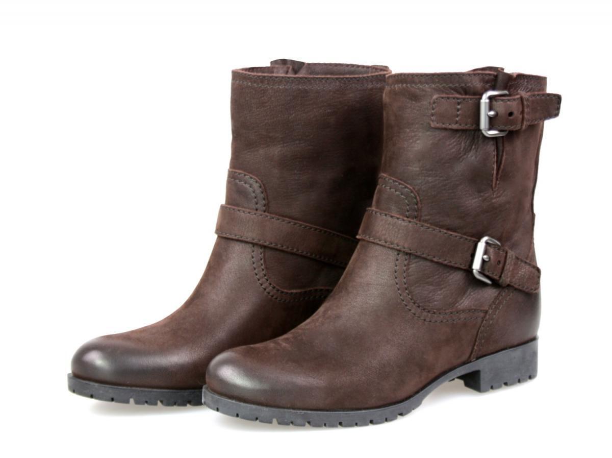 Lujo prada botín zapatos 1u292e ebano nuevo New 37,5 38