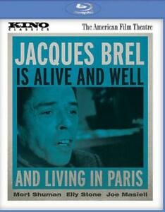 JACQUES-BREL-IS-ALIVE-AND-WELL-AND-LIVING-IN-PARIS-USED-VERY-GOOD-BLU-RAY-DISC