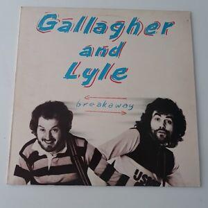 Gallagher-And-Lyle-Breakaway-Vinyl-Album-LP-EX-EX