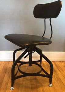 Image Is Loading Restoration Hardware 1940s Toledo Leather Dining Chairs