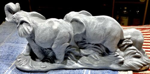 Latex Mould for making this Stunning 3D Style Elephant Family