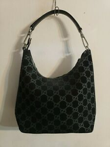 Gucci Hobo Bag Guccissima GG Suede Leather Handbag Shoulderbag Tote ... 814d0a17ff9ff