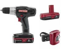 Craftsman Cordless Drill/driver Kit C3 19.2 V Lithium-ion 3/8-in. Drilling Bit