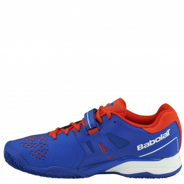 New Babolat Mens PROPULSE Clay M  Tennis shoes  bluee Red 30S16425