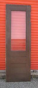 details about exterior antique wood door 30 x 89