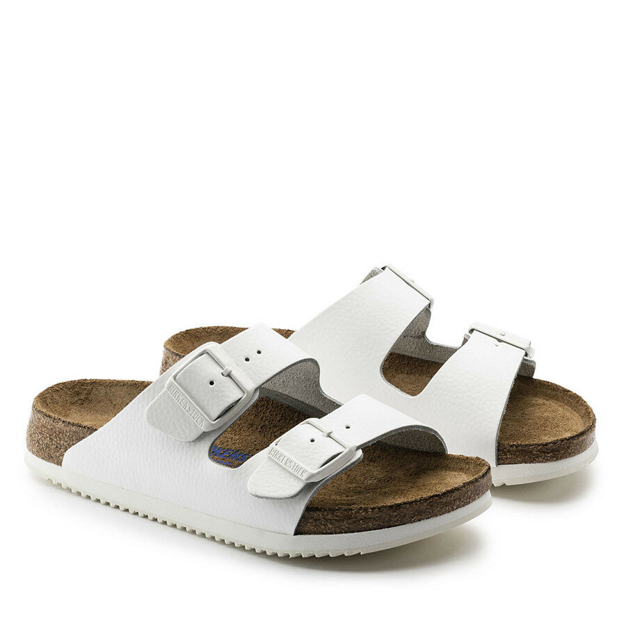 Birkenstock Sandale  Uomo Weiß Arizona Sandale Birkenstock UK9 NEW WITH TAGS b4757d